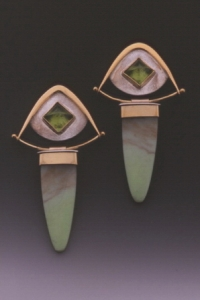 Peridot & Chrysophrase Earrings