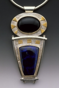 Onyx Sodalite Pendant